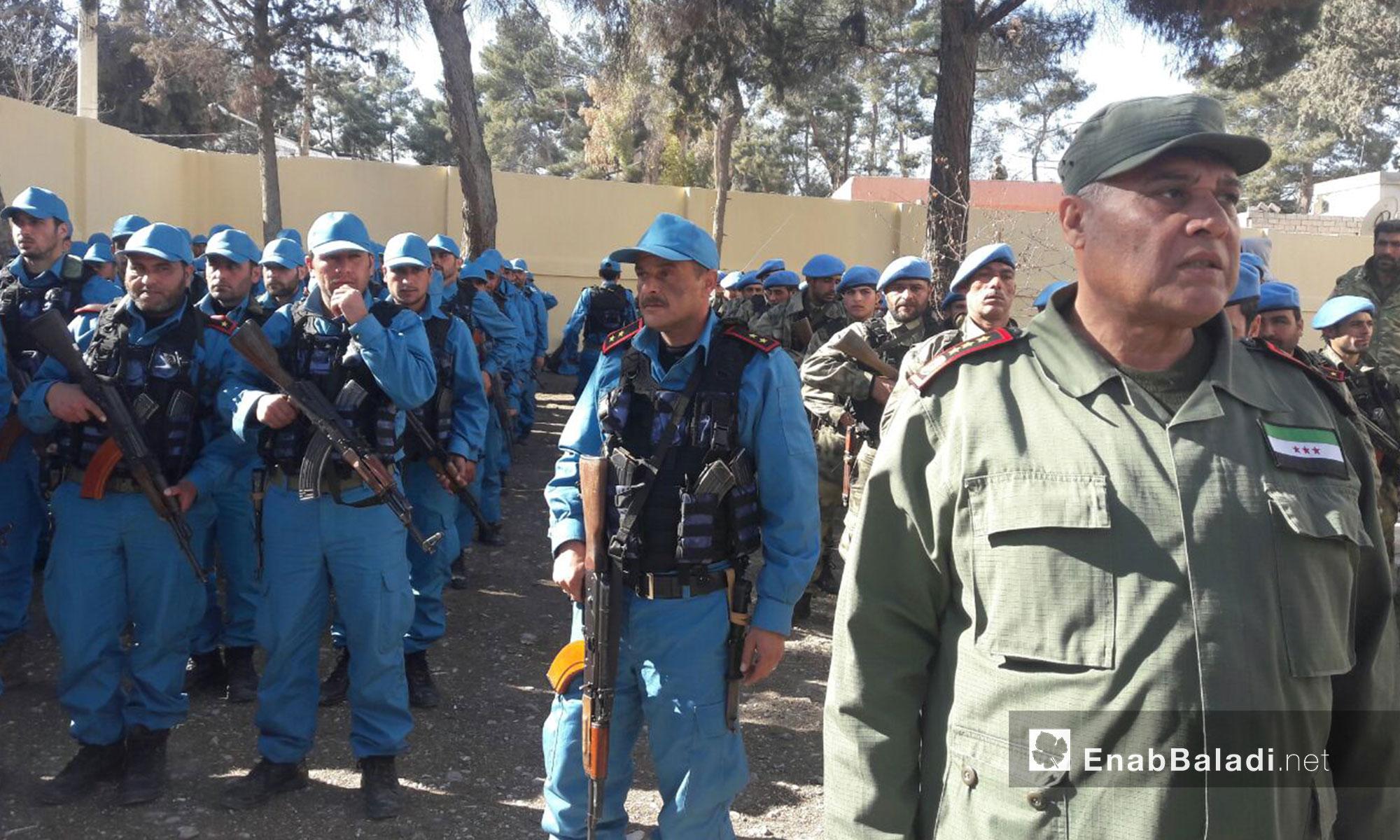 """وسيتم تدريب المزيد من عناصر """"الشرطة"""" في دوارت لاحقة"""
