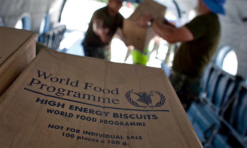 المساعدات الغذائية التي يقدمها برنامج الأغذية العالمي - (انترنت)