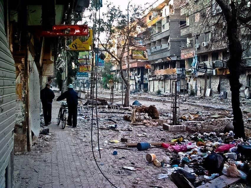 سوق مخيم اليرموك