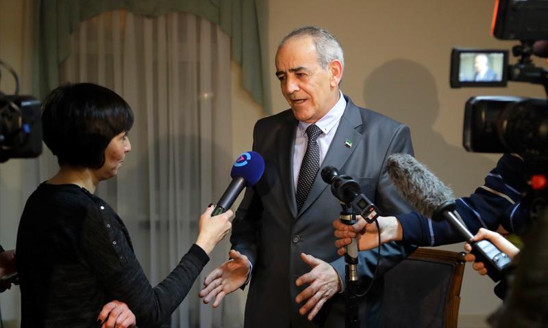 يحيى العريضي، المتحدث باسم وفد المعارضة السورية في أستانة (إنترنت)