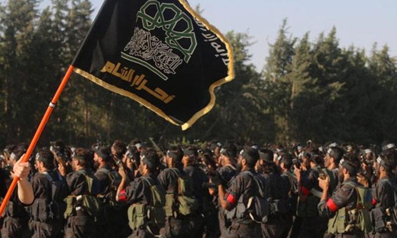 """تعبيرية: مقاتلون من حركة """"أحرار الشام الإسلامية"""" (أرشيفية من الإنترنت)"""