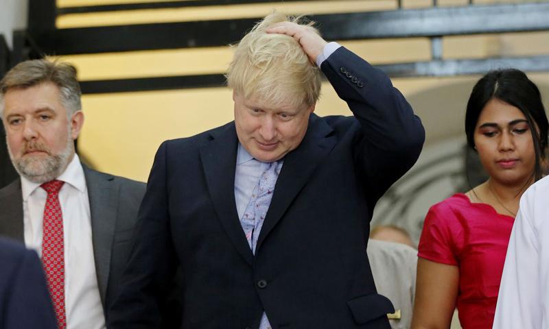 وزير الخارجية البريطاني، بوريس جونسون_(AFP)