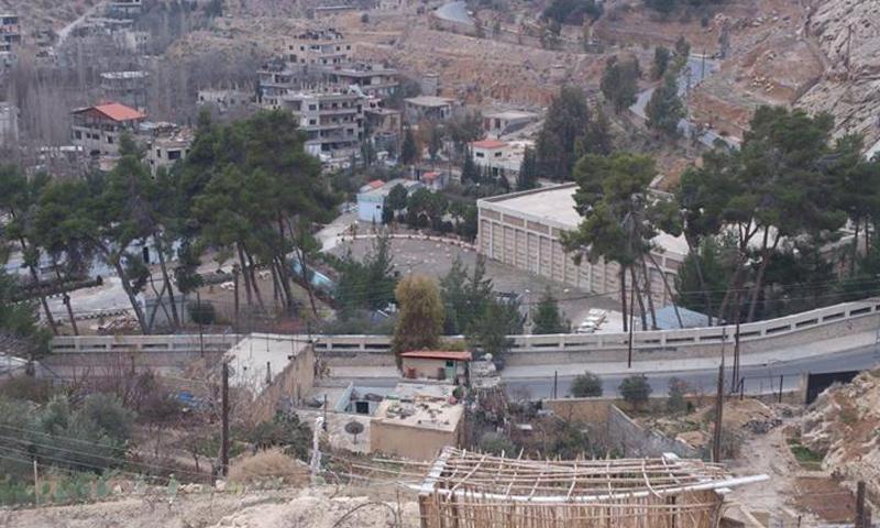 قرى وادي بردى بريف دمشق_(انترنت)