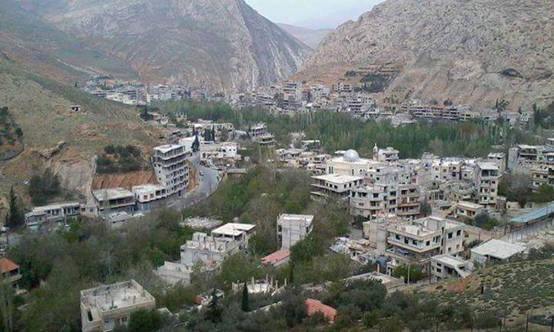 قرى وادي بردى بريف دمشق الغربي_(فيس بوك)