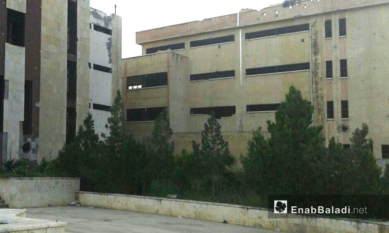 صورة من داخل سجن إدلب المركزي - 2016 (عنب بلدي)