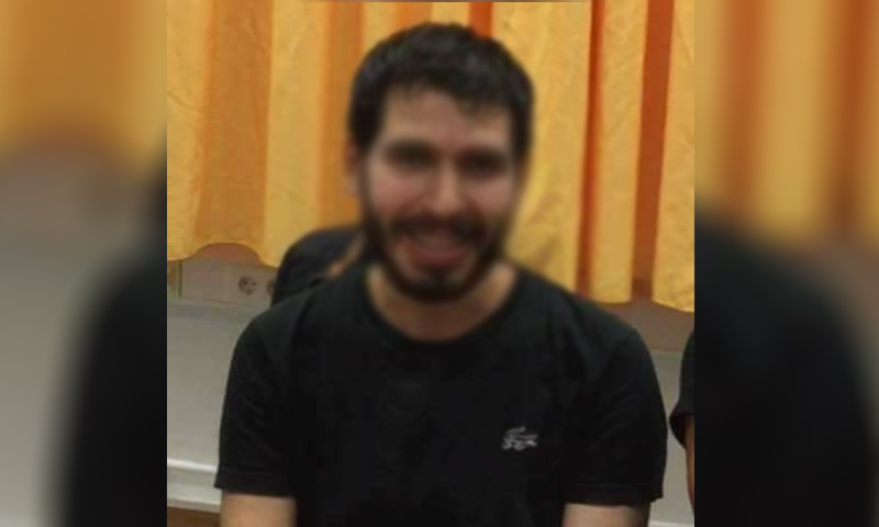 """الشاب """"م.ر"""" من مدينة إدلب_(فيس بوك)"""