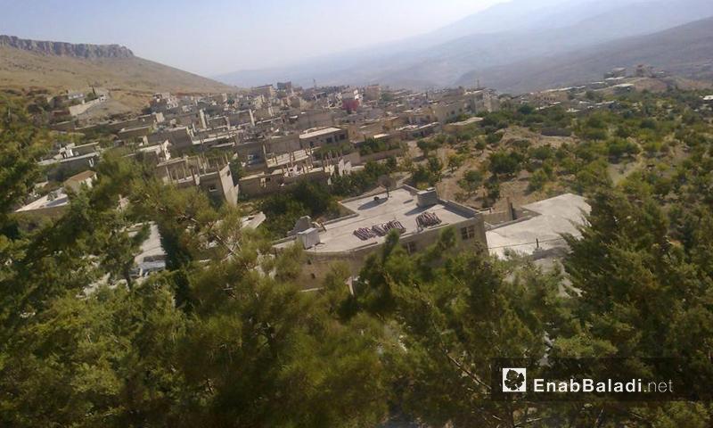أرشيفية- قرية عين الفيجة في منطقة وادي بردى (عنب بلدي)