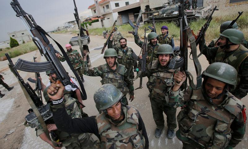 تعبيرية- مجموعة من قوات الأسد