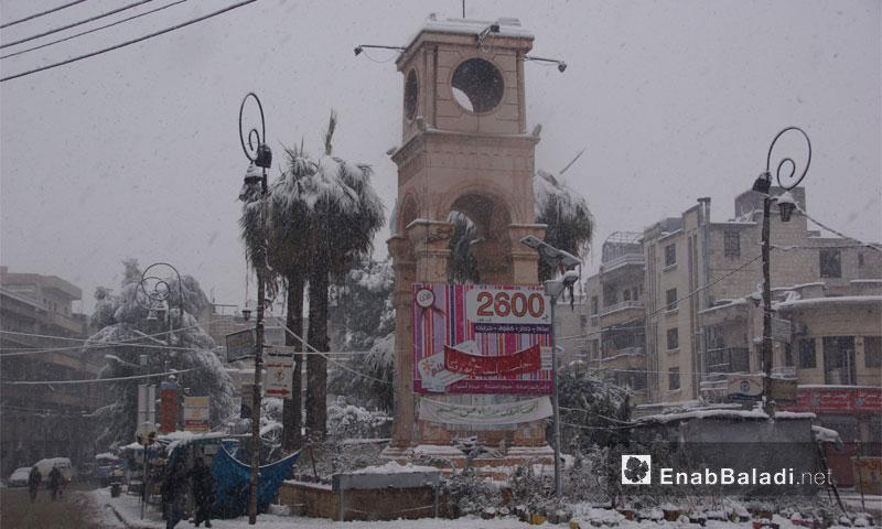 مركز مدينة إدلب- كانون الأول 2016 (عنب بلدي)