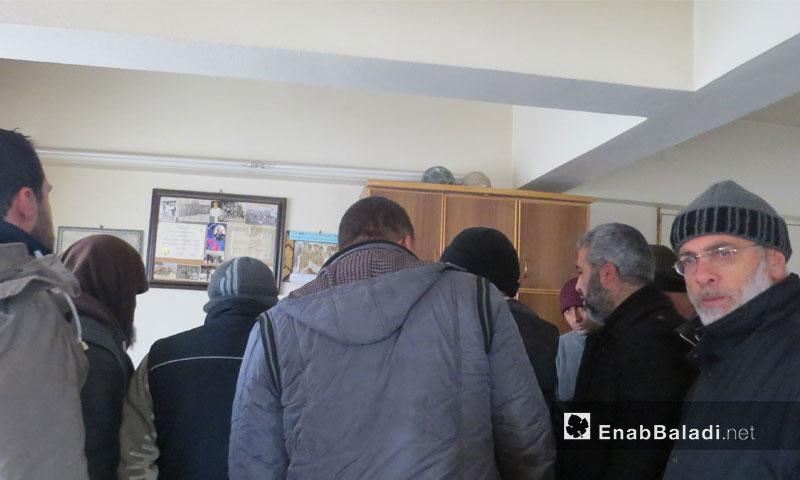 انتخابات مجلس مدني لمدينة إدلب 10 كانون الثاني 2017 (عنب بلدي)