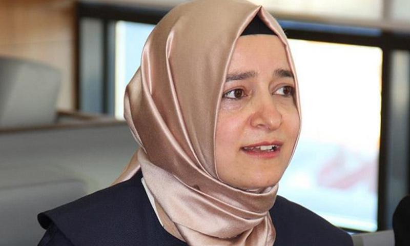 وزيرة الأسرة والسياسات الاجتماعية التركية، فاطمة بتول قايا_(انترنت)