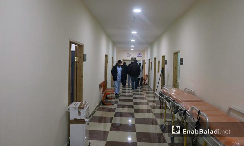 """مستشفى """"الساحل"""" التخصصي في ريف اللاذقية - 16 كانون الثاني 2017 (عنب بلدي)"""