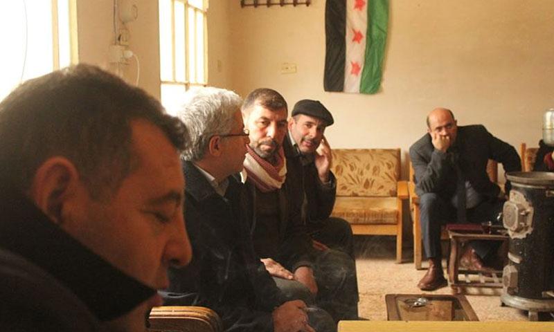 اجتماع المجلس المحلي لمدينة مارع بالوفد التركي - (المجلس المحلي لمارع)