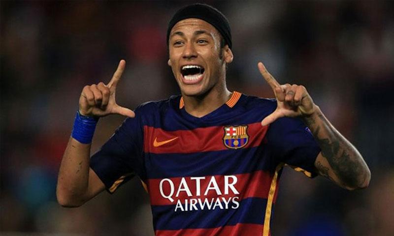 لاعب برشلونة البرازيلي نيمار دا سيلفا - (انترنت)