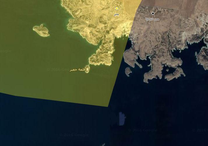 خريطة توضيحية على المناطق التي سيطرت عليها قسد في ريف الرقة الغربي_(عنب بلدي)