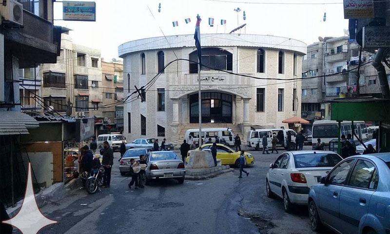 الحياة في قدسيا الثلاثاء 3 كانون الثاني (دمشق الآن فيس بوك)