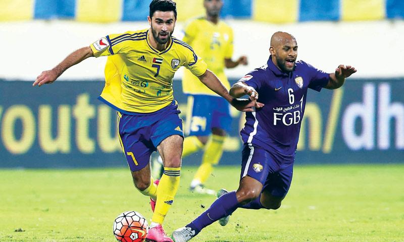 اللاعب السوري عمر خريبين (الفانيلة الصفراء)