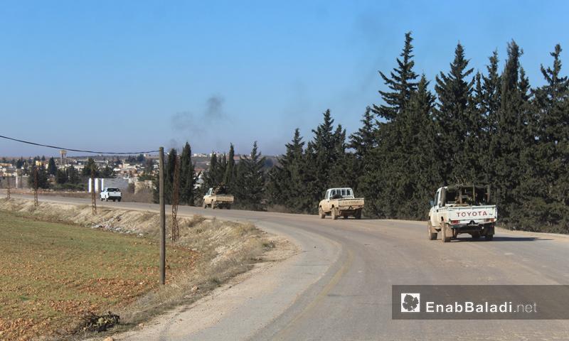 فصائل الجيش الحر تدخل الأحياء الغربية بمدينة الباب_(عنب بلدي)