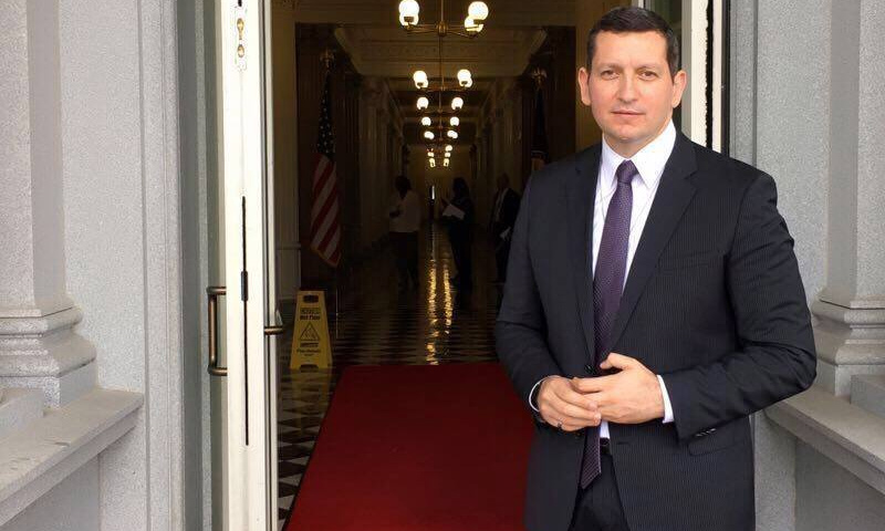 عضو منصة القاهرة المحسوبة على المعارضة السورية جهاد مقدسي - (فيس بوك)
