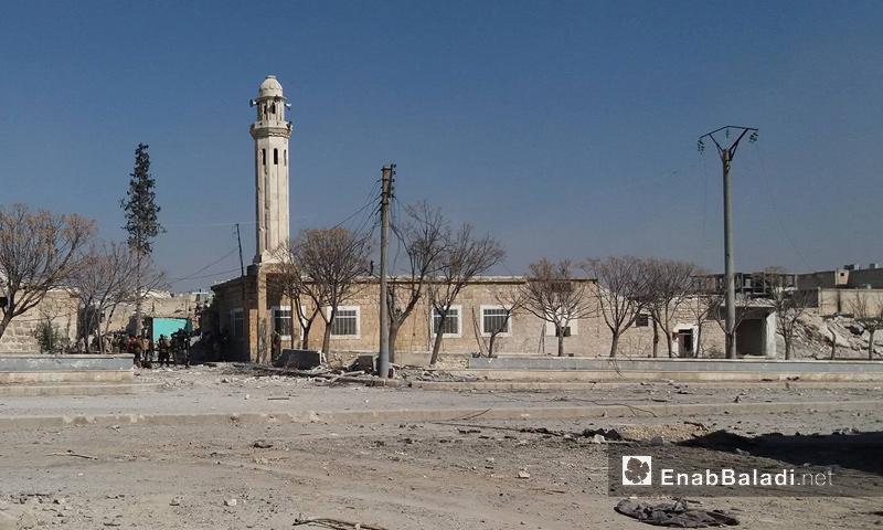"""جانب من مدينة الباب بعد طرد تنظيم """"الدولة"""" منها- الخميس 23 شباط (عنب بلدي)"""