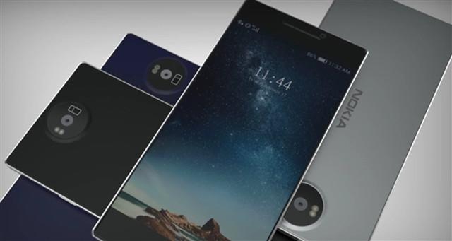 """صور نشرتها مواقع تقنية على أنها لهاتف """"Nokia 8"""" (إنترنت)"""