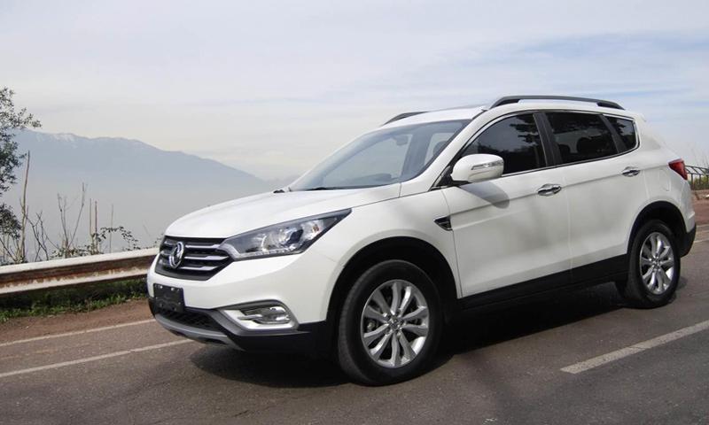"""سيارة """"DFM"""" الصينية المتوقع إنتاجها في مصنع """"خلوف"""" في سوريا (إنترنت)"""