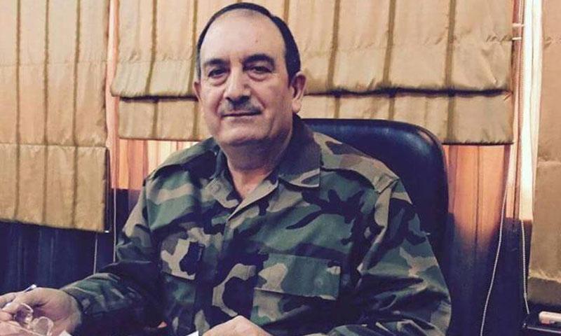 اللواء حسن دعبول رئيس فرع الأمن العسكري في حمص قتل في تفجير 25 شباط 2017 (فيس بوك)