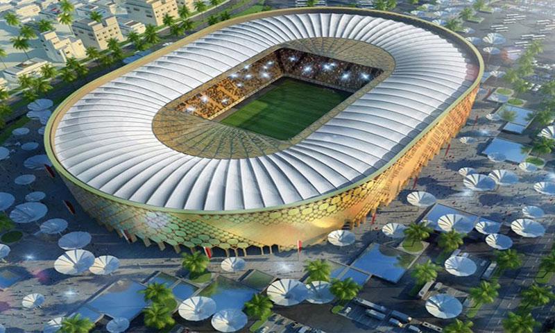 صورة مجسمة عن أحد ملاعب مونديال قطر 2022 - (انترنت)