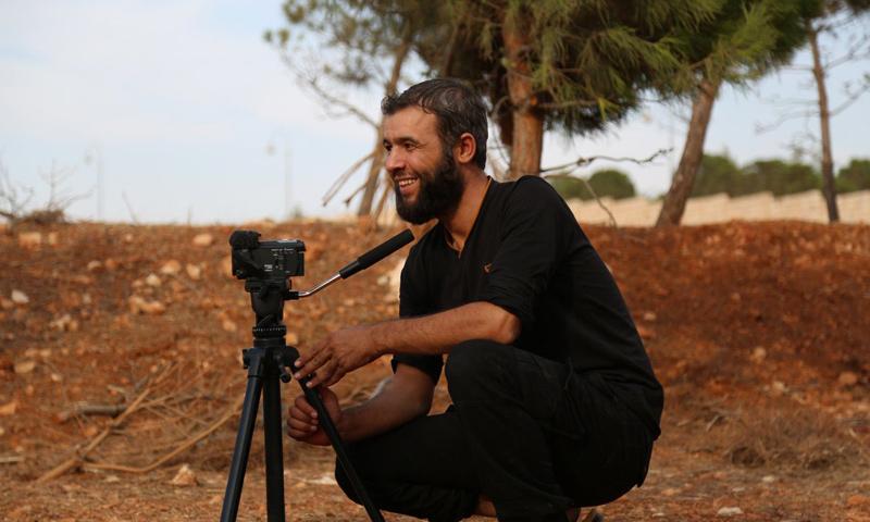 الناشط الإعلامي براء حلاق (أبو اليزيد تفتناز)