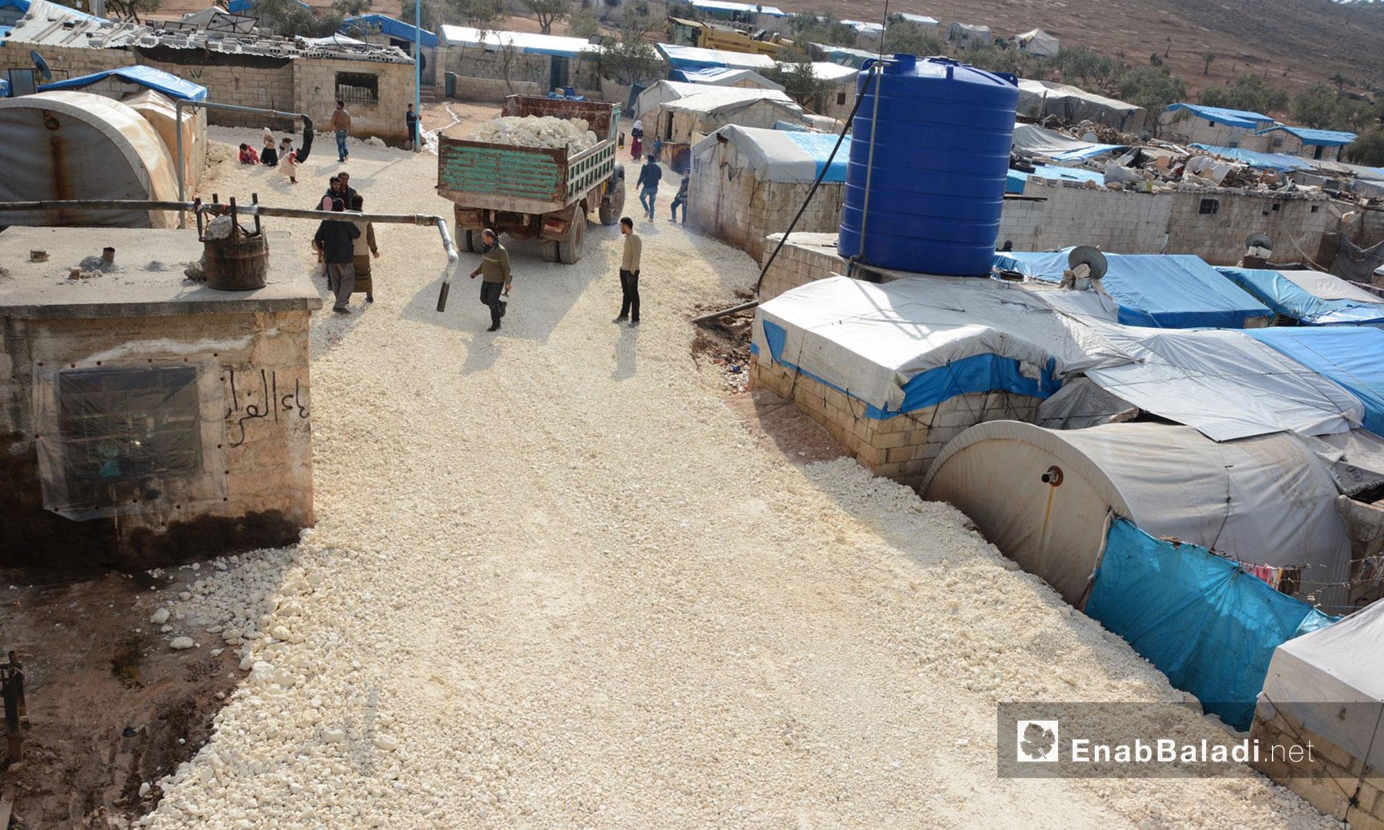 """المشروع تنفذه جمعية """"عطاء"""" العاملة في داخل سوريا"""
