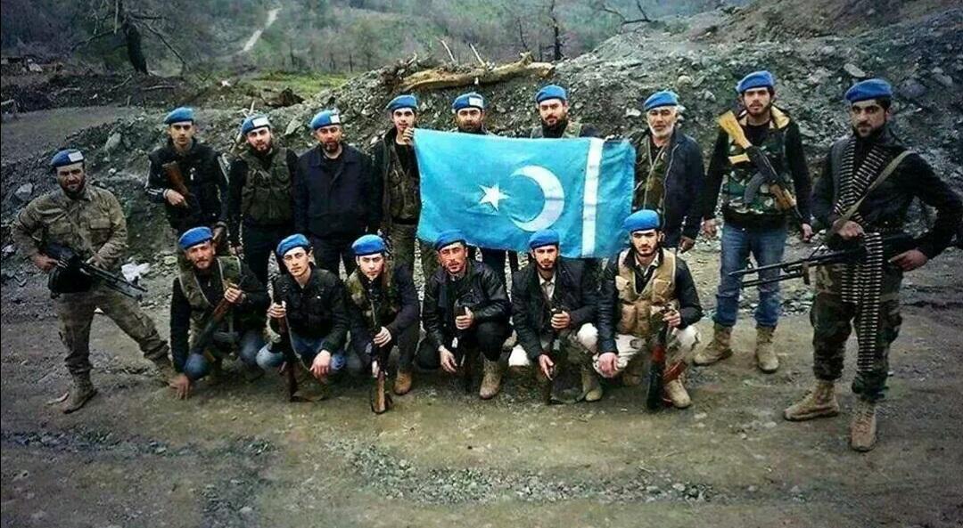 مقاتلون تركمان في ريف اللاذقية الشمالي (وكالات تركية)