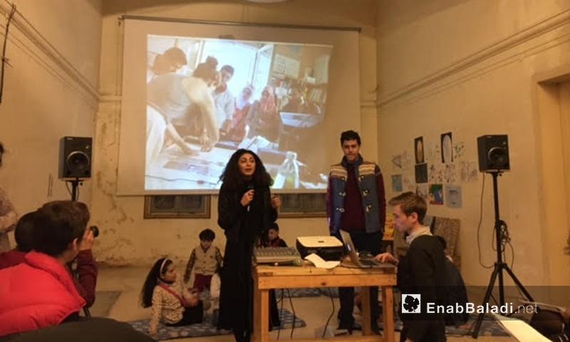 """الحفل داخل مركز """"منشن"""" في البقاع اللبنانية - 19 شباط 2017 (عنب بلدي)"""