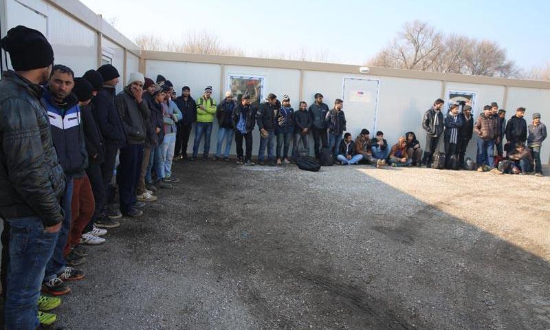 اللاجئين المعادين من اليونان إلى الأراضي التركية_3 شباط_(الأناضول)
