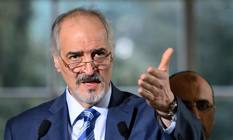 المندوب الدائم للنظام السوري في الأمم المتحدة، ورئيس وفده إلى أستانة، بشار الجعفري (إنترنت)