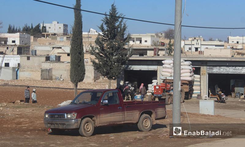 بلدة سوسيان بريف حلب الشمالي الشرقي - كانون الأول 2016 - (عنب بلدي)
