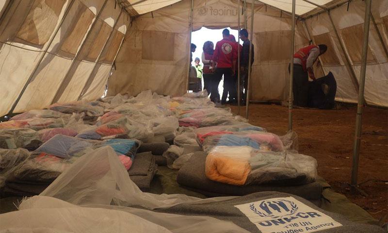 حملة صحية توعوية في مدينة دير الزور من قبل الهلال الأحمر السوري (الهلال الأحمر)