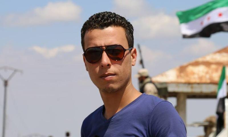 الناشط الإعلامي باسل الدروبي (فيس بوك)