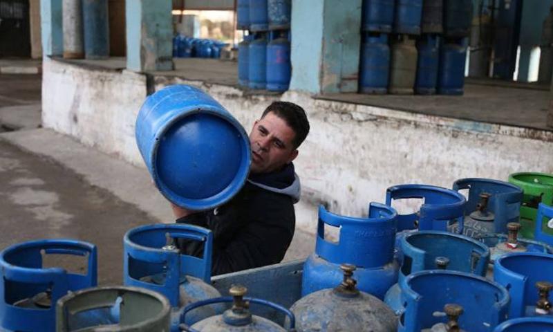 مراكز توزيع الغاز في دمشق (دمشق الآن)