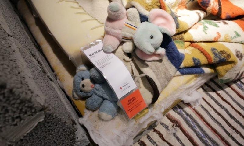 """تعبيرية: بضائع من شركة """"IKEA"""" داخل مخيمات اللاجئين في بلدان الشرق الأوسط (وكالات)"""