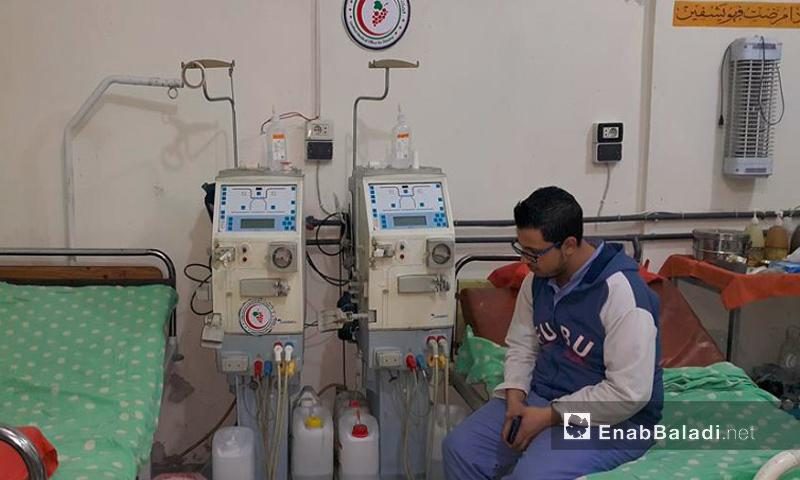 تعبيرية: قسم الكلية داخل المكتب الطبي الموحد في الغوطة الشرقية وما حولها - الأربعاء 27 كانون الثاني 2016 (أرشيف عنب بلدي).