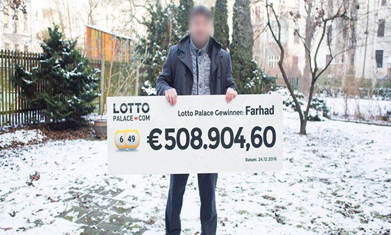 سوري يفوز بنصف مليون يورو في ألمانيا - (انترنت)