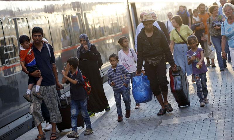 قانون ألماني جديد لترحيل اللاجئين المرفوضين - (انترنت)