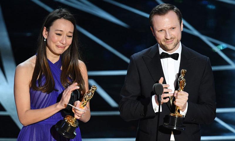 """فيلم """"الخوذ البيضاء"""" يفوز بجائزة """"أوسكار"""" - (انترنت)"""