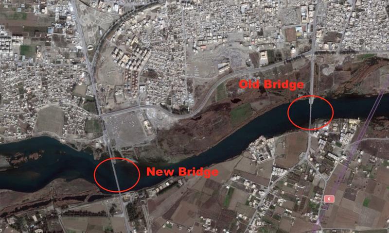 الجسور المدمرة في مدينة الرقة_(الرقة تذبح بصمت)