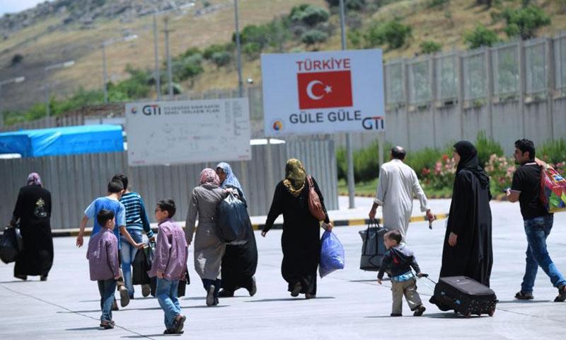 لاجئون سوريون في تركيا - (انترنت)