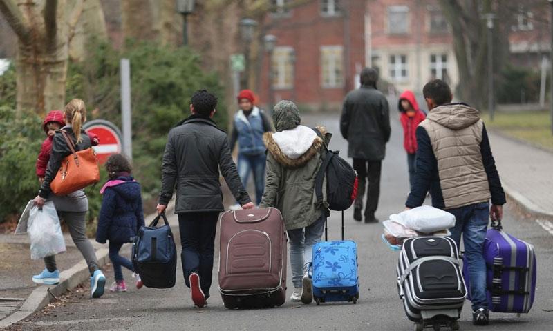 لاجئون في ألمانيا - (انترنت)