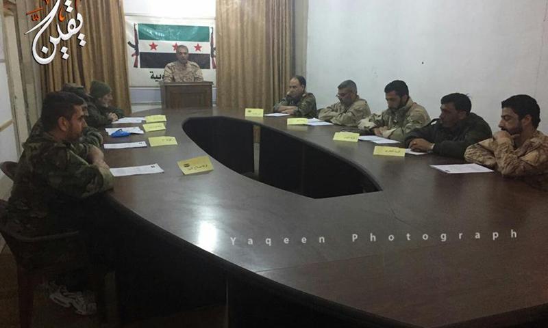 """اتفاق قادة في """"الجيش الحر"""" بدرعا على تشكيل """"قوات الجنوب""""- الخميس 9 شباط (يقين)"""