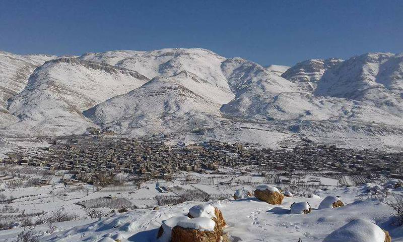 أرشيفية- بلدة سرغايا في القلمون الغربي بريف دمشق