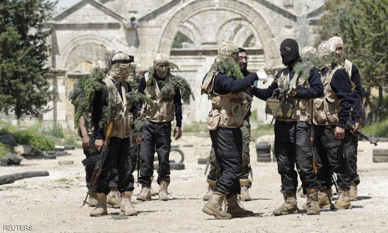 مقاتلون من فتح الشام (إنترنت)