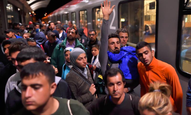 لاجئون في ألمانيا (تعبيرية من الإنترنت)
